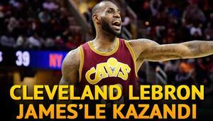 Cavaliers LeBronla kazandı