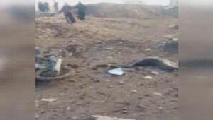 El Bab yakınlarındaki köyde bombalı araç patlattılar