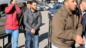 DEAŞ üyesi 3 Iraklı adliyeye sevk edildi
