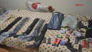 Polis suikast silahları buldu