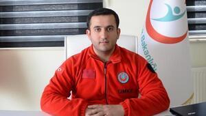 Bitlis'te UMKE ve 112 ekipleri kış boyunca 5 bin 135 hastaya müdahale etti
