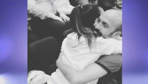 Sarp Akkayadan basketbol maçında evlilik teklifi