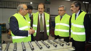 Oda başkanlarından fabrika ziyareti