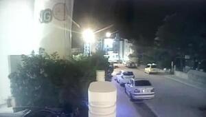 Suikast timinin öldürdüğü polis memurunun şehit olduğu anlar kamerada