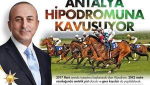 Antalya hipodromuna kavuşuyor