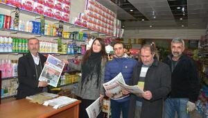 Çatak Belediyesinin ilk gazetesi yayımlandı