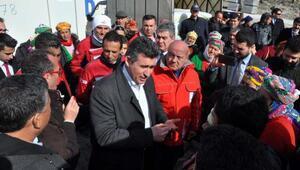 TBB Başkanı Feyzioğlu deprem bölgesi Ayvacıkta