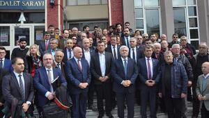 CHPli Bülent Tezcana saldırının ilk duruşması yapıldı