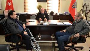 Gelibolulu gazetecilerden yeni Emniyet Müdürüne ziyaret