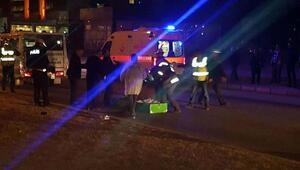 Minibüsün çarptığı babaanne öldü, torunu ağır yaralandı