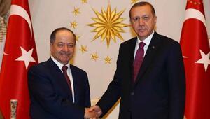 Ankaraya sürpriz ziyaret... Barzani neden geliyor