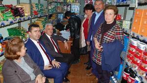 CHPli Özdişten Kozanda hayır kampanyası