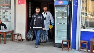 Adanada sahte içki imalathanesine baskın