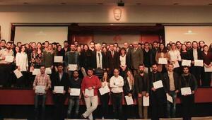 İEÜ öğrencilerine girişimcilik sertifikası