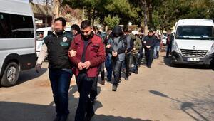 Sosyete torbacılarına operasyon: 18 gözaltı