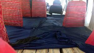 Vanda 156 bin 960 paket kaçak sigara ele geçirildi