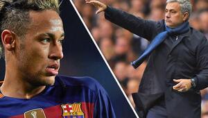 Neymar bombası! Mourinho ile transferi görüştü...