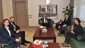 Vali Demirtaş sivil toplum temsilcilerini ağırladı