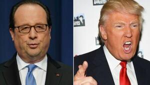Hollandeden Trumpa sert cevap: SAYGISIZLIK