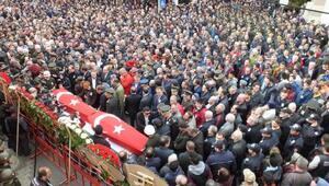 Şehit Astsubay Hasan Çobanı, binlerce Burhaniyeli son yolculuğuna uğurladı - ek fotoğraf