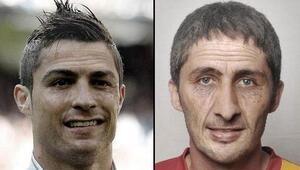 Ronaldo ile Sabri aynı kaderi paylaştı Şaşırtan kare...