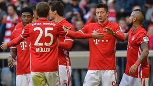 Bayern Münih 8-0 Hamburg