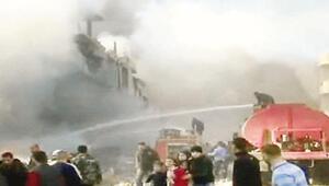 Nusra rejimin askeri merkezlerini vurdu