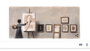 Mihri Müşfik Hanım Google tarafından Doodle oldu