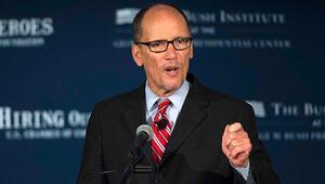 Obamanın Çalışma Bakanı Perez, Demokrat Parti başkanlığına seçildi