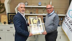 Süleymanpaşa Belediye Başkanından Başkan Bozbey'e ziyaret