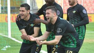 Akhisar Belediyesporu rahatlatan galibiyet