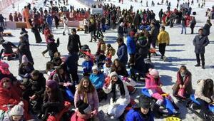 Gaziantepli öğrenciler, kayak kampına başladı