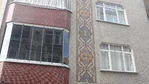 Bağcılarda duvarlarındaki çatlaklar nedeniyle boşaltılan binalarla ilgili inceleme sürüyor