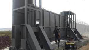 TOKİnin inşa ettiği sınır duvarının yarısı tamamlandı