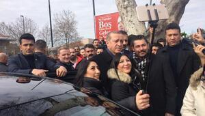 Ek fotoğraflar // Cumhurbaşkanı Erdoğana doğum günü sürprizi