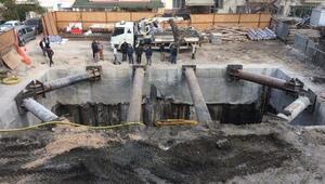 Tramvay hattı elektrik trafosu inşaatı duvarları çatlattı iddiası