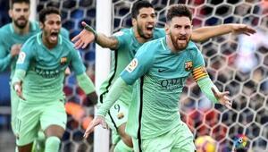 Barcelonayı yine Messi kurtardı