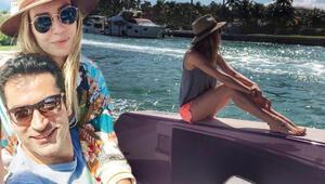 Sinem Kobal ile Kenan İmirzalıoğlu Miamide ev baktı