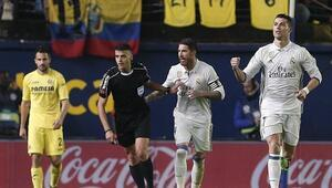 Real Madrid avans verdi maçı vermedi