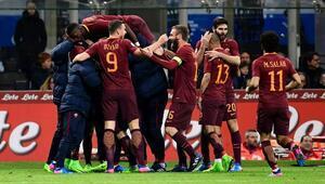 Roma, Inter'i deplasmanda yendi