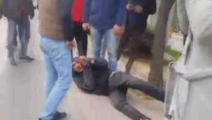 Beşiktaşta hırsıza meydan dayağı