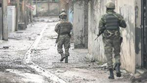 Mardinde bir mahallede sokağa çıkma yasağı