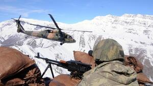 Komandolar Irak sınırındaki dağları teröristlerden temizledi