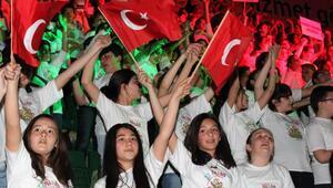 Çankayanın 1000 Çocuk Korosu Bahar Konserine hazır