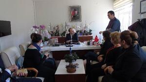Babaeski Atatürk Ortaokulu yabancı veli ve öğrencileri konuk etti