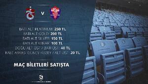 Trabzonspor'da Kardemir Karabükspor biletleri satışa çıktı