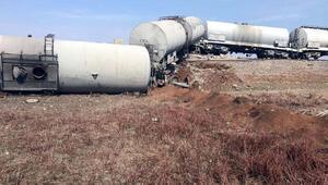 Diyarbakırda yük trenine bombalı saldırı