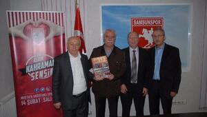 Samsunspora gurbetçilerden destek