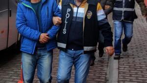 FETÖ'den gözaltına alınan 20 polis, adliyeye gönderildi