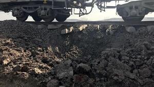 Diyarbakırda yük trenine bombalı saldırı (2)